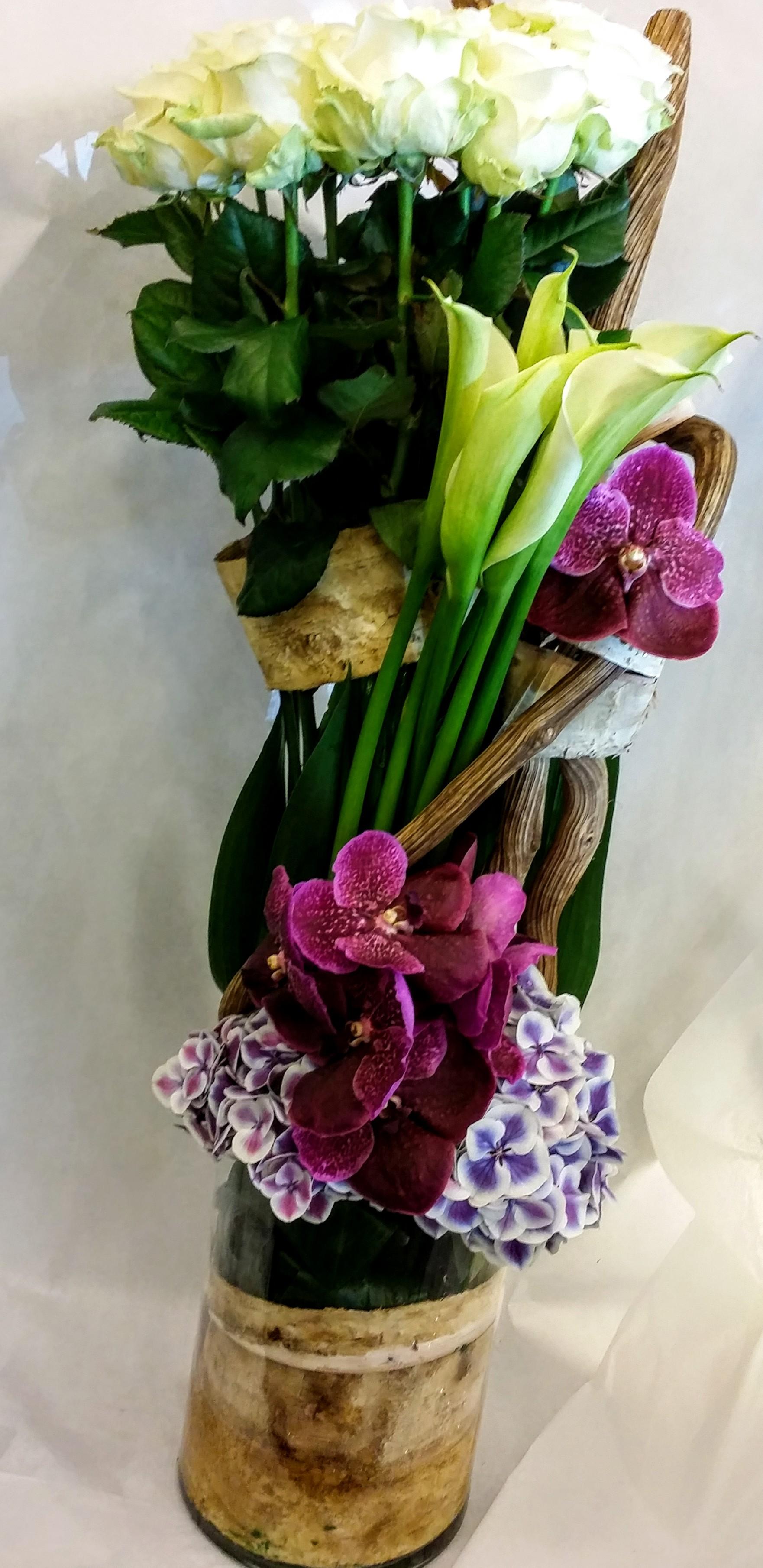 composition florale 002 flore sens. Black Bedroom Furniture Sets. Home Design Ideas